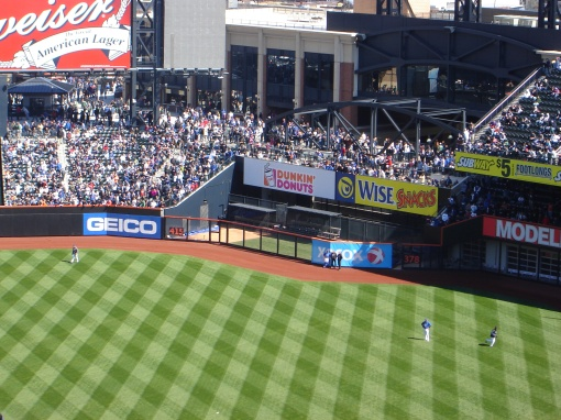 Citi Field bleachers