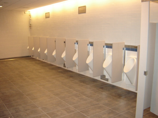 Citi Field bathroom